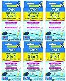 API 5 In 1 Aquarium Test Strips, 150 tests (6 x 25ct)