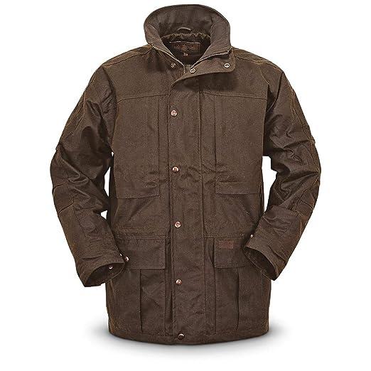 8e18e5d8abbc3 Amazon.com: Outback Trading Deer Hunter Waterproof Oilskin Jacket: Clothing