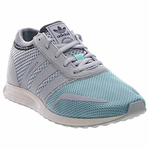 sports shoes 9f204 650e5 adidas Los Angeles Mens in Clear Aqua Light Solid Grey, 8