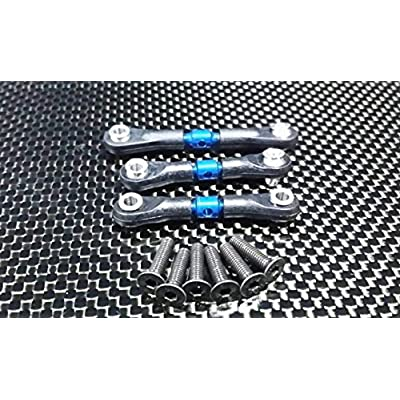 GPM Tamiya TT-02 Upgrade Parts Aluminum Steering Tie Rod - 1 Set Blue: Toys & Games