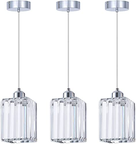 SHENGQINGTOP Modern Crystal Pendant Light