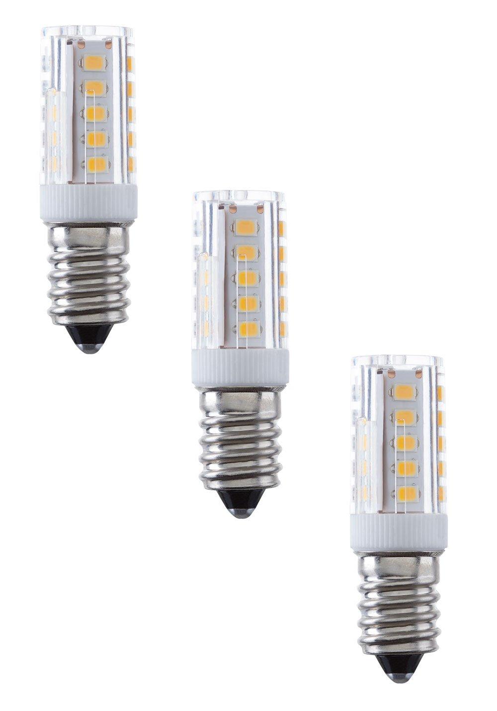 3er Pack NuLoXx LED Spezial Keramik 7W 840 4000K 500lm neutralweiß E14 360°