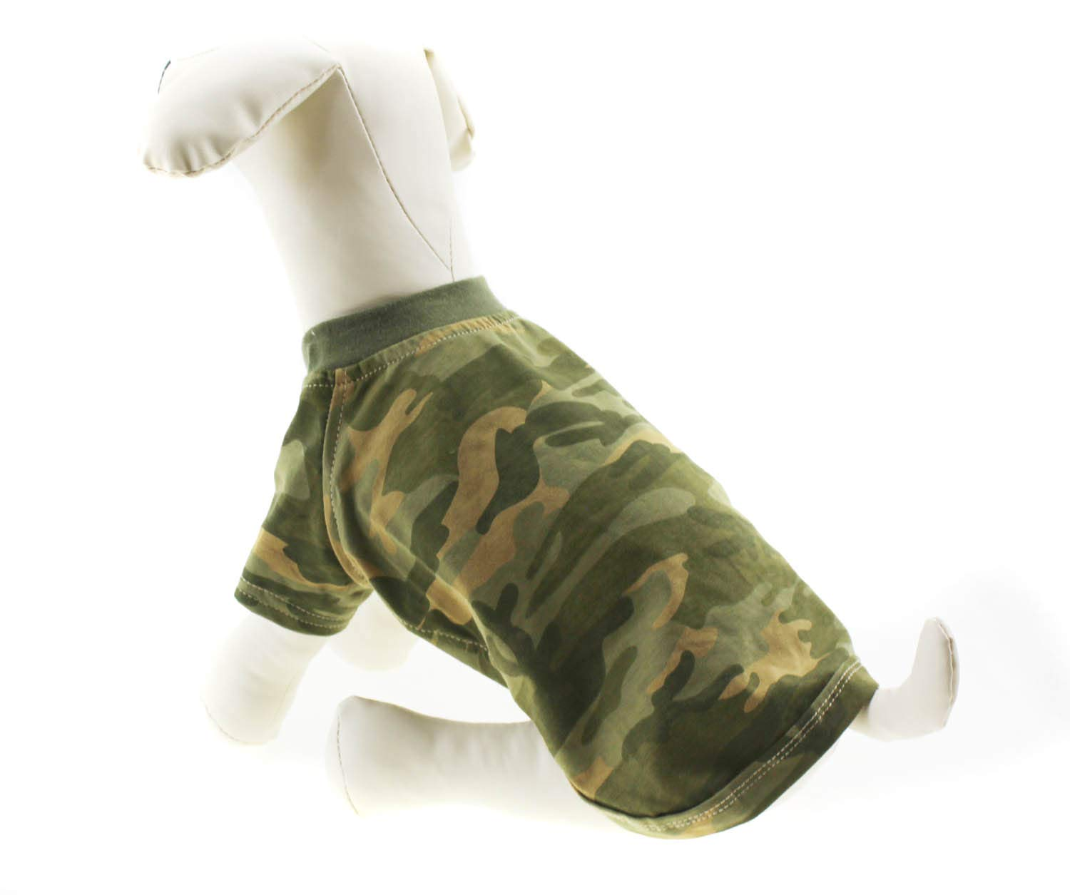 Lovelonglong 2019 Dog T-Shirts Army Camouflage Style Summer Spring Tee Shirts for Small Medium Large Size Dogs 100/% Cotton Purple XL