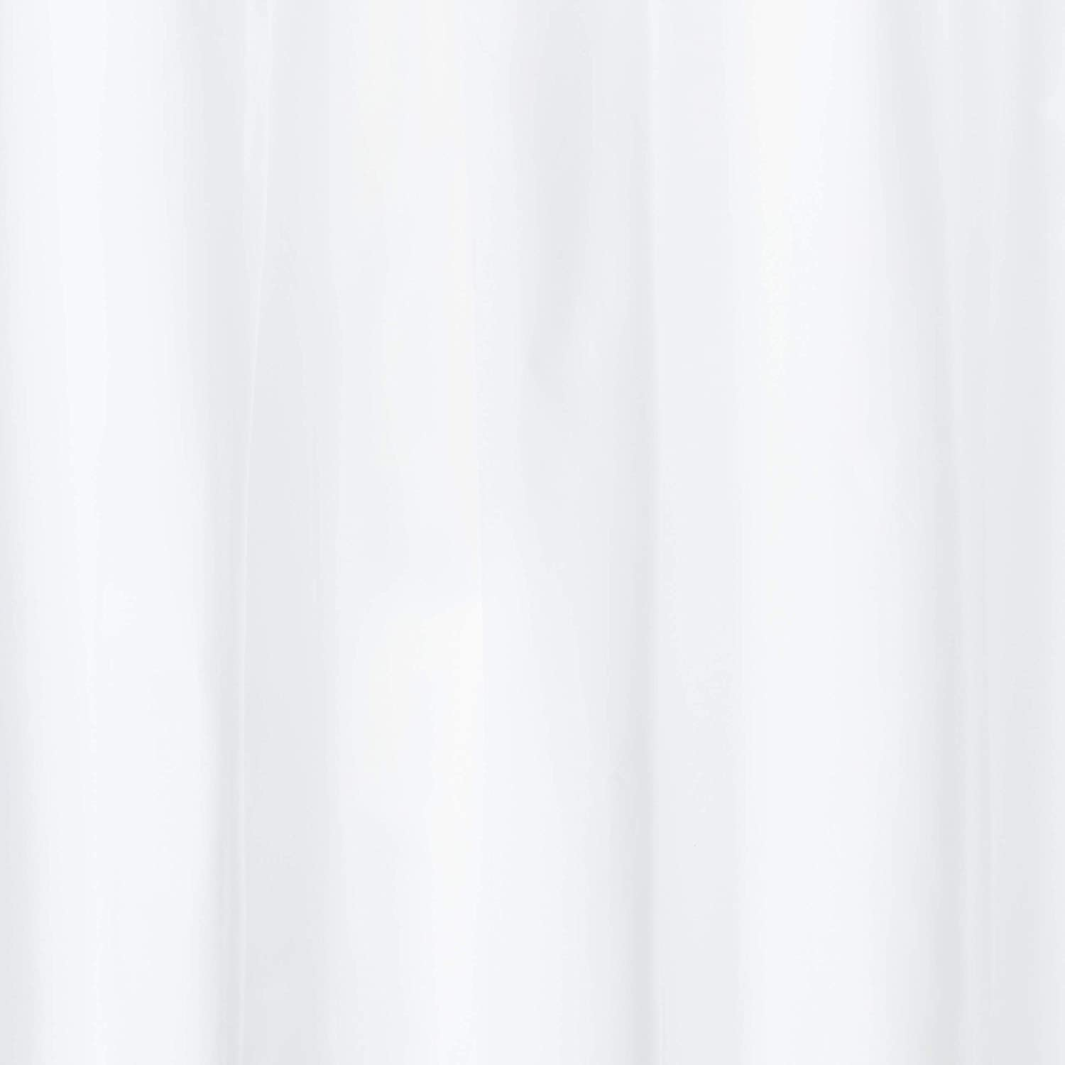 72 x 84 White Royal Bath Extra Long and Heavy 10 Gauge PEVA Non-Toxic Shower Curtain Liner with Metal Grommets
