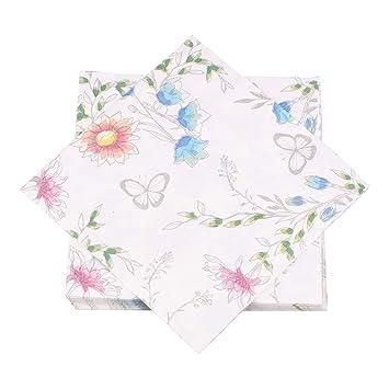 Amazon.com: Ottin 150 servilletas decorativas para cena ...