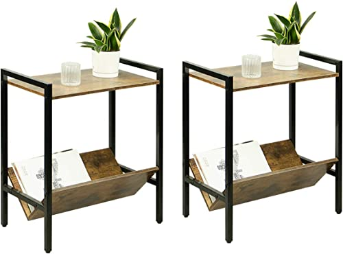 Petiture Set of 2 End Table