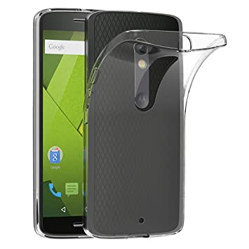 bd1536b7dae AICEK Funda Motorola Moto X Play, Motorola Moto X Play Funda Transparente  Gel Silicona Motorola