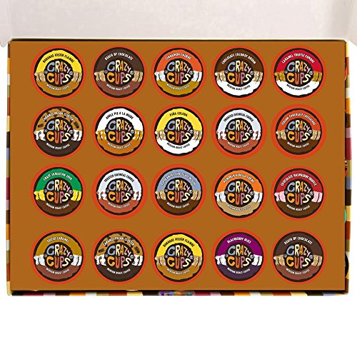 Crazy Cups Flavored Coffee Deluxe Sampler