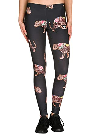 ad9ea0f1cad5c Adidas Originals Women's Oncada Women's Leggings With Print in Size 34-XS  Black: Amazon.co.uk: Clothing