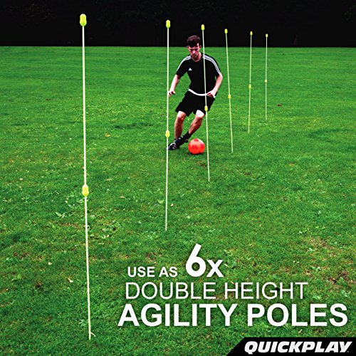 Jual QuickPlay PRO Agility Poles (Set of 12) Adjustable Height  use ... 53bbd75c0