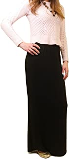 product image for Hard Tail Forever Modal Maxi Skirt, Pull On Slinky Skirt Style: SIR-12