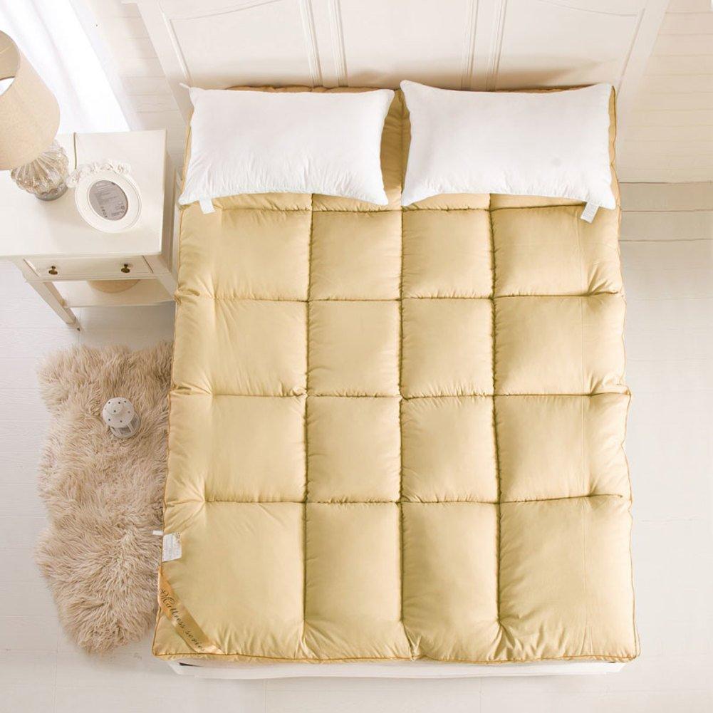 DHWJ WCCT Padded mattress,Mattress,Student dormitory bed mat-C Queen1