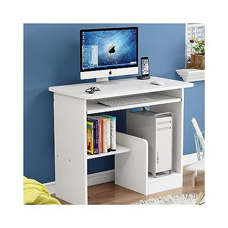YXHUI Escritorio de la computadora, Escritorio Simple Mesa de su ...