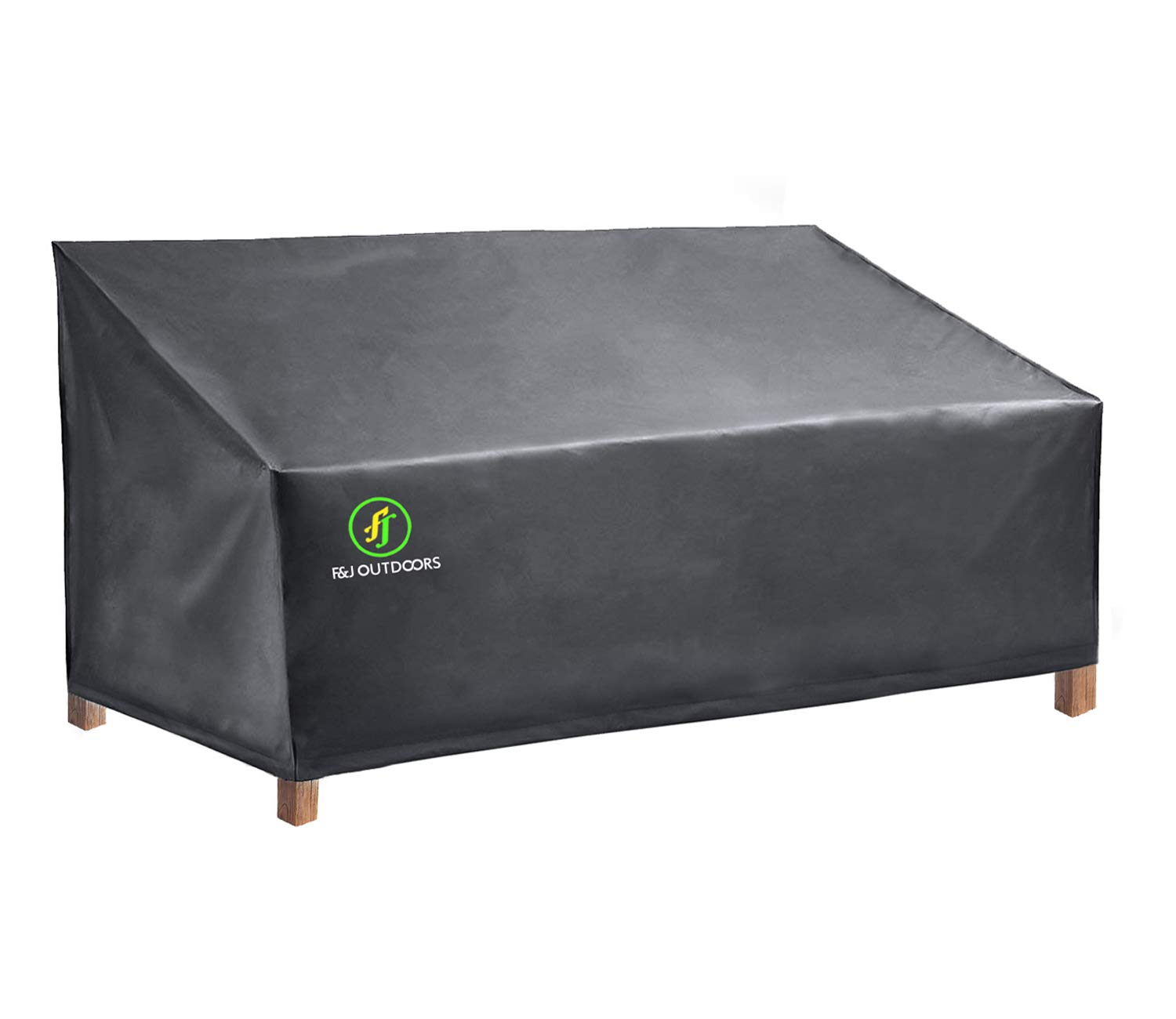 Patio Sofa Cover, Durable Waterproof UV Resistant Outdoor Furniture Covers for 3-Seater Sofas, Grey by F&J Outdoors