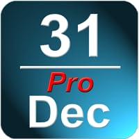 Día Calendario En la barra de estado Pro