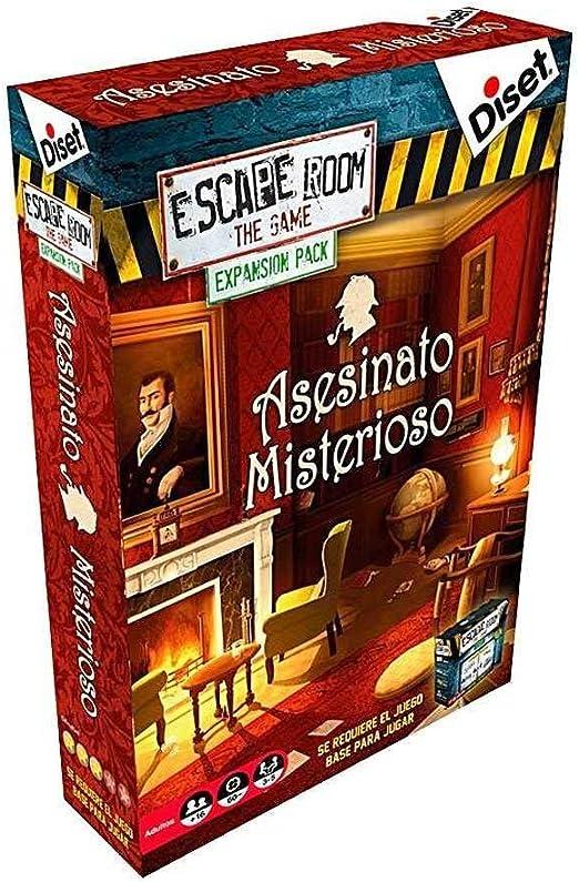 Diset - Escape Room expansión Asesinato Misterioso: Amazon.es: Juguetes y juegos