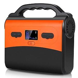 SinKeu 167Wh AC出力150W(MAX) ポータブル電源