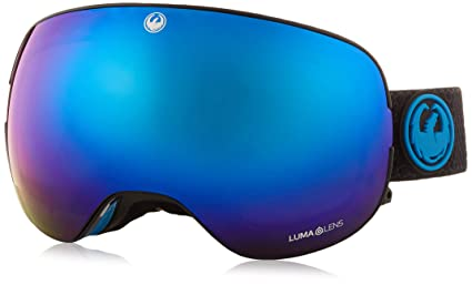 614929d19ce Amazon.com   Dragon Alliance X2 Split Snow Goggles for Men Women ...
