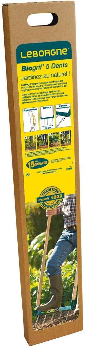 Amazon.com: Leborgne - LEBORGNE - Biogrif Grelinette 5 ...
