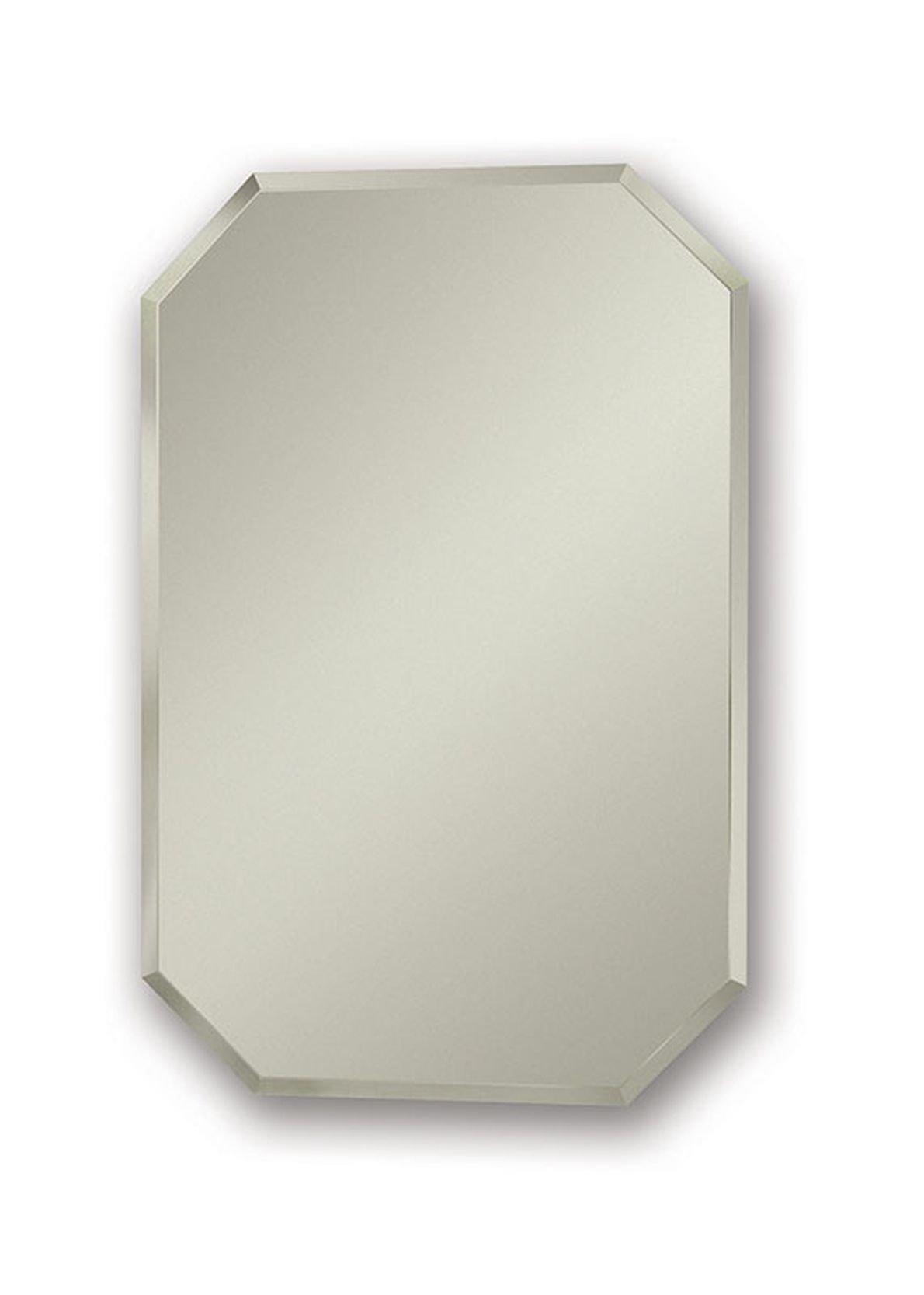 Jensen 1454X Octagon Bevel Mirror Medicine Cabinet, 18'' x 27''