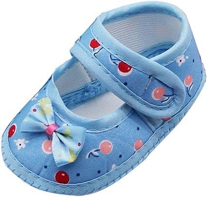 Zapatos Bebe Niña Zapatillas para Bebes con Suela Blanda Zapatos ...