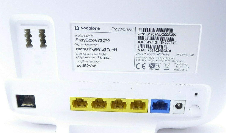 Vodafone Easy Box 804 DSL & VDSL WiFi Router