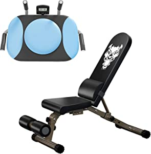 Adjustable Weight Bench for Home GYM Workout Bench Press and Plank Board