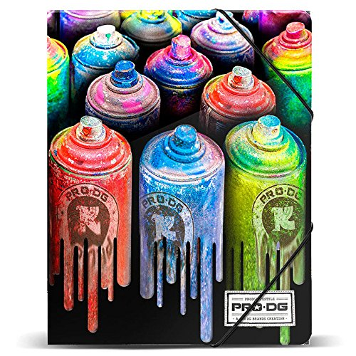 PRODG Folder Colors Portable Handbag Hanger, 32 cm, Multicolour