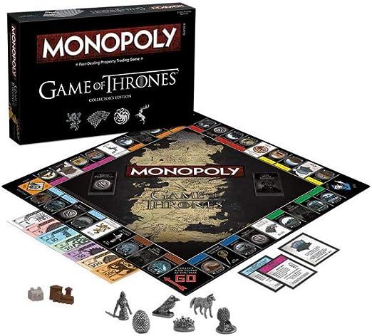 Horror-Shop Juego De Tronos Monopoly Versión En Inglés: Amazon.es: Juguetes y juegos