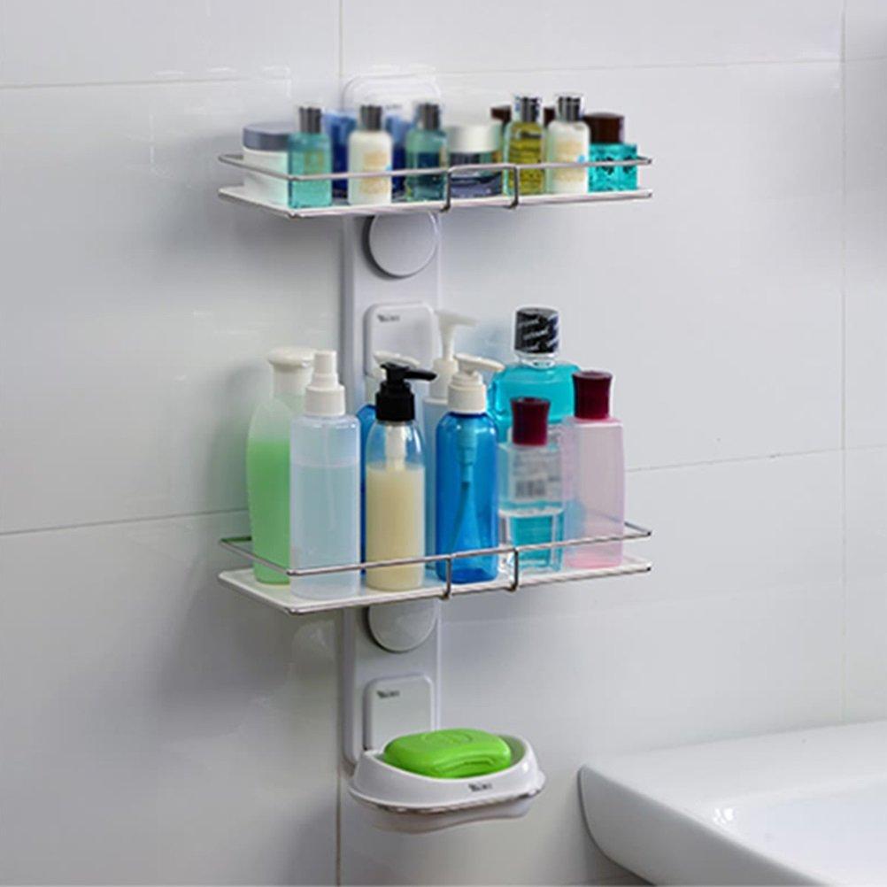 Amazon.com: LQQGXL Storage and organization Bathroom shelf bathroom ...
