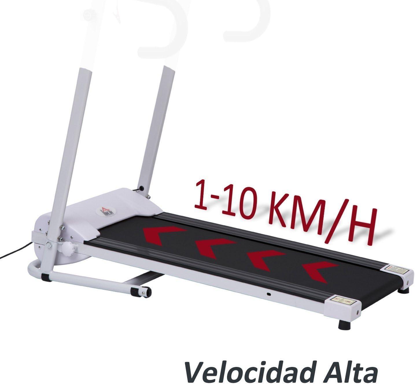 HOMCOM Cinta de Correr Plegable y Eléctrica de 500W para Fitness 1 ...