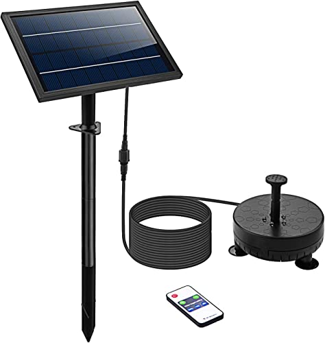 Lewisia-Battery-Backup-Solar-Fountain-Pump