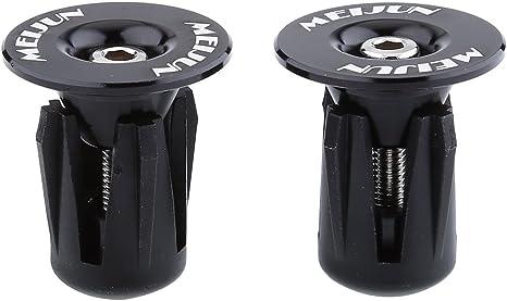 2PCS Bicycle Handlebar Ends Bike Parts Aluminium Alloy MTB Bike Handle Bar Grips Plugs Caps For Bicycle Accessories