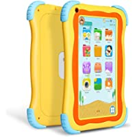 Yuntab Q91 7 inch Android 5.1 Kids Edition Tablet PC with Premium Parent Control Kids Software Pre-Installed Allwinner A33 Quad-core, 1+16GB, Duanl Camera, WiFi, Bluetooch Tablet for Kids (Yellow)