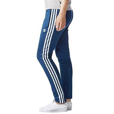 online retailer wholesale dealer detailing adidas Originals Europa TP Damen Trainingshose Sporthose Hose Track Pants  Blau