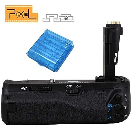 PIXEL Empuñadura de Batería BG-E13 para Canon EOS 6D Cámara ...