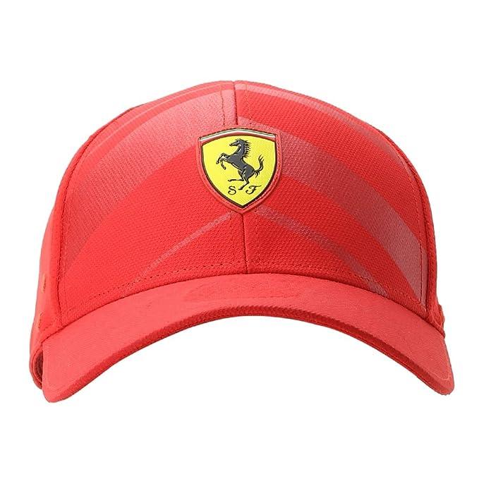 7efc515abbc Puma Men s Cap (2152001 Red One Size)  Amazon.in  Clothing   Accessories