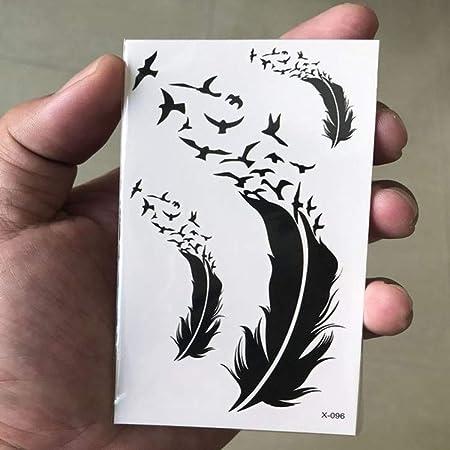 adgkitb 5 Piezas Impermeable Tatuaje Temporal Pegatina Mandala ...