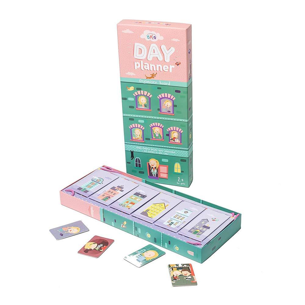 OKID Organizer Board Visual Schedule Developing Activity Game Helps Children be More Organized.