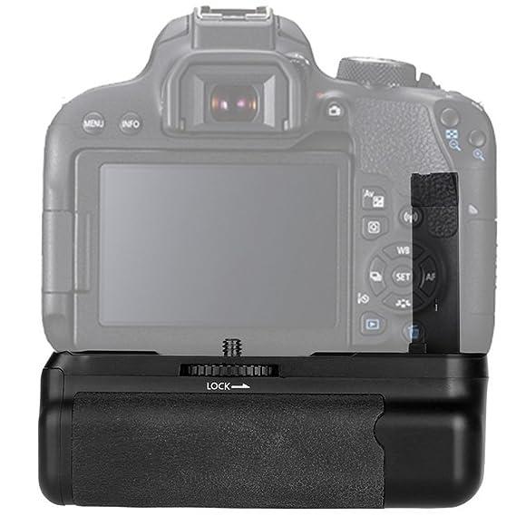 Empuñadura de batería para Canon cámara réflex digital: Amazon.es ...