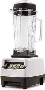 BioChef High Performance Blender - 1600 Watt Commercial Blender - 2 Litre BPA-Free Jug (White)