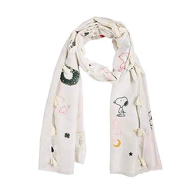 retro Sortenstile von 2019 Kaufen Sie Authentic CODELLO PEANUTS Snoopy X-MAS GLITTER SCARF Schal offwhite 82113805