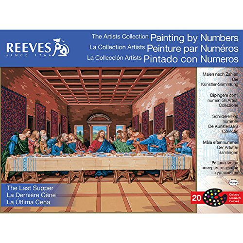 Reeves Painting by Numbers The Last Supper