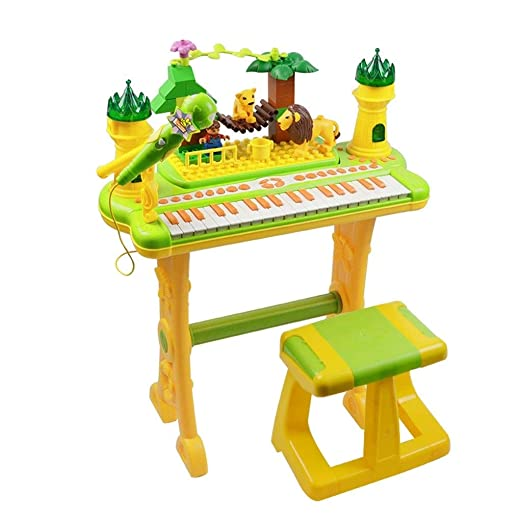 HXGL-piano Juguete para niños Piano Aprendizaje temprano ...