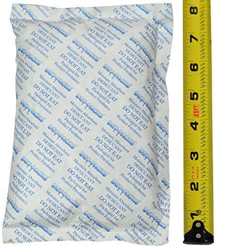 Dry-Packs 448 Gram (1LB) Silica Gel Desiccant Packet 8