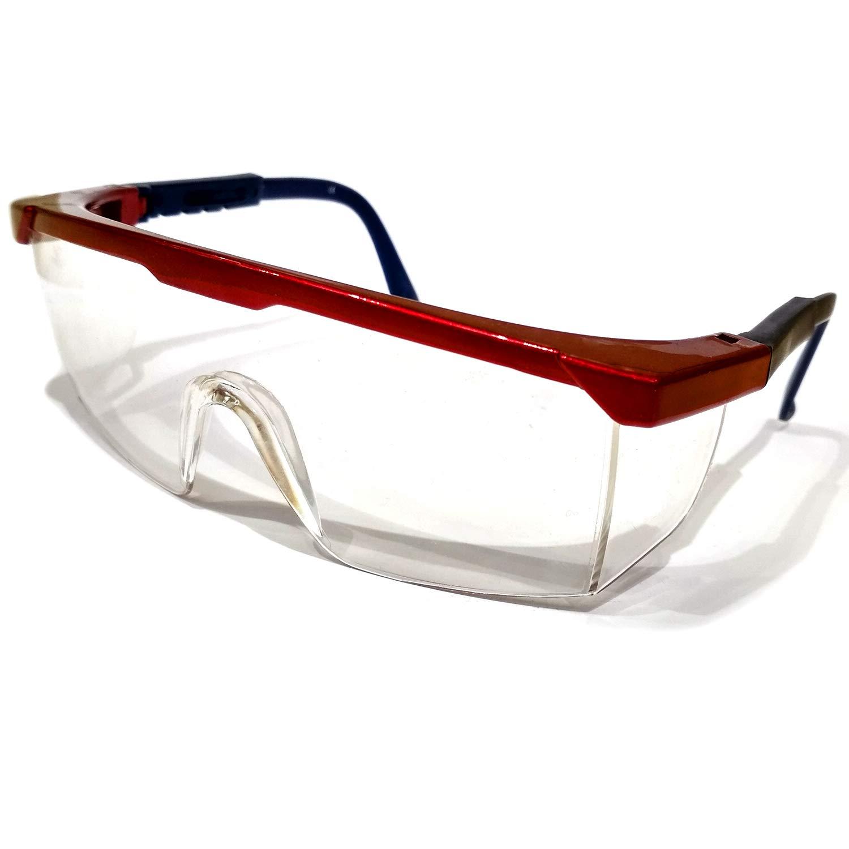 Gafas de protección | 1 par de gafas de seguridad antivaho | para agricultura, industria y laboratorio, transparente, 1