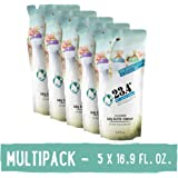 23.4° Life's perfect balance Baby Bottle Cleanser, Refill Pouch for Pump, Unscented, 5 Units, 84.5 Fl. Oz