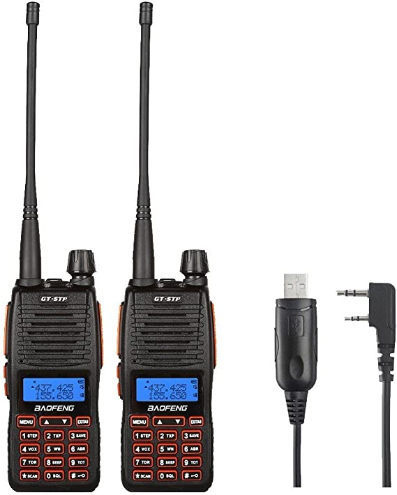 Program Cable 10x BAOFENG UV-6R Dual Band UHF//VHF 2 Way Ham Radio Walkie Talkie
