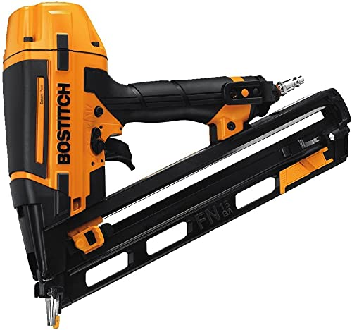 BOSTITCH U BTFP72156 Smart Point 15-Gauge FN Style Angle Finish Nailer Certified Refurbished