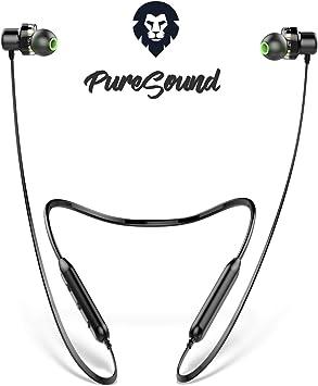 Auriculares Bluetooth Deportivos Encore Pure Sound, Marca Europea, Auriculares inalambricos Bluetooth 10h Sonido estéreo con Dual Driver, Cascos Bluetooth para Smartphone, Tablet, pc iOS y Android: Amazon.es: Electrónica